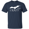Bat Shit Crazy Tee - Classic Navy T-shirt - Tattered Halo