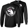 Chubby Unicorn Long Sleeve T-shirt
