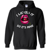 I Licked It Black Pullover Hoodie - Tattered Halo