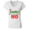 Santa's Favorite Ho V-Neck T-Shirt