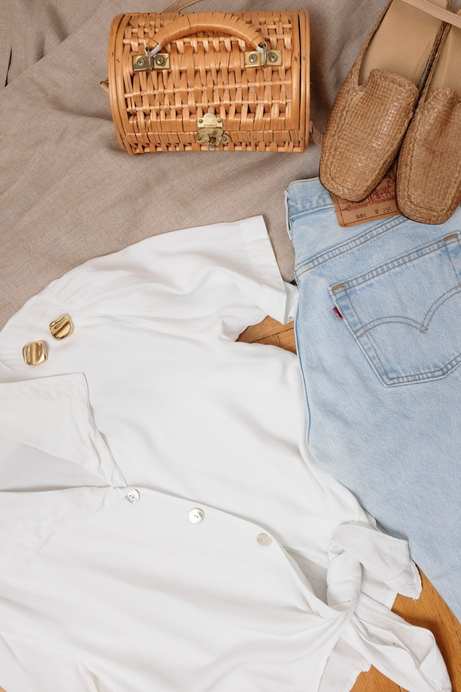 0438_LEVIS CROP 501 W29 PALE BLUE VINTAGE