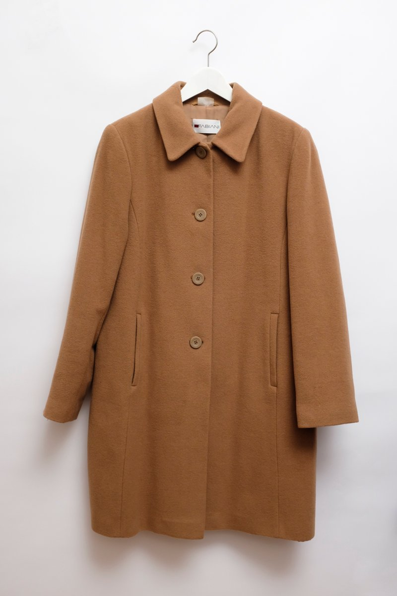 0168_WOOL CAMEL MAC COAT