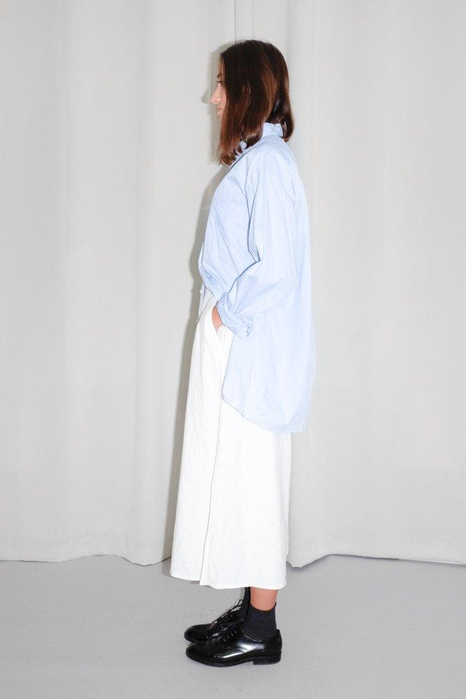 0741_VINTAGE PALE BLUE OVERSIZED BOYFRIEND SHIRT