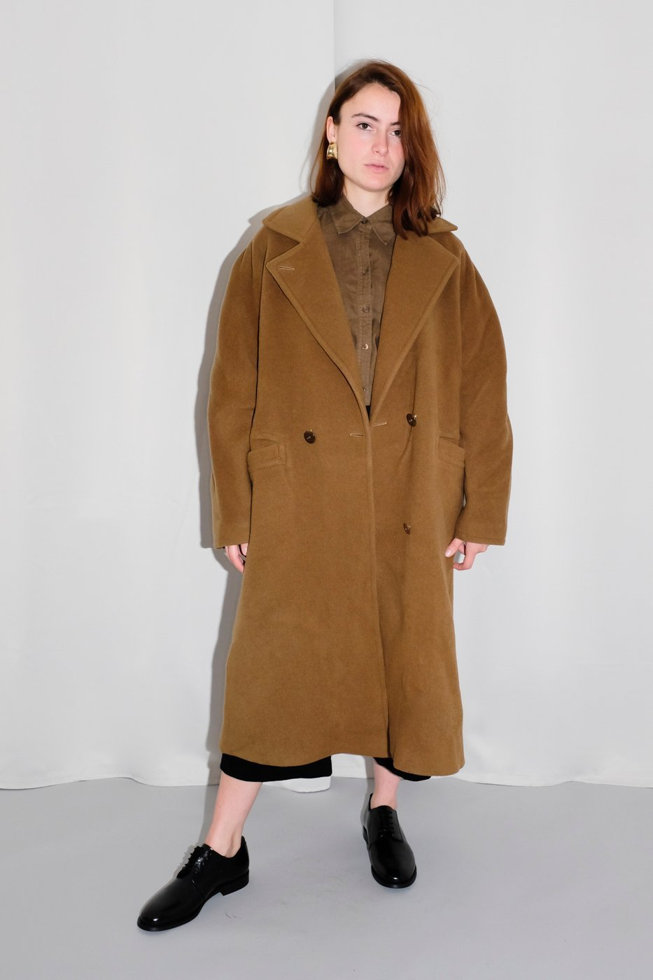 0281_CAMEL VINTAGE WOOL COAT