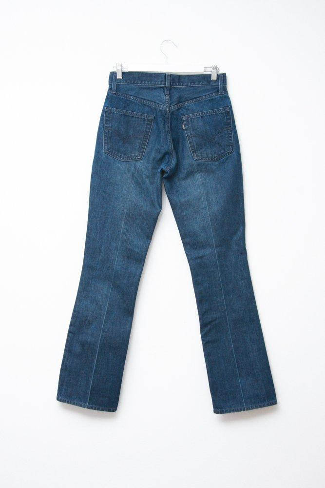 0709_LEVIS VINTAGE WIDE FLARED JEANS TROUSERS W30 L34
