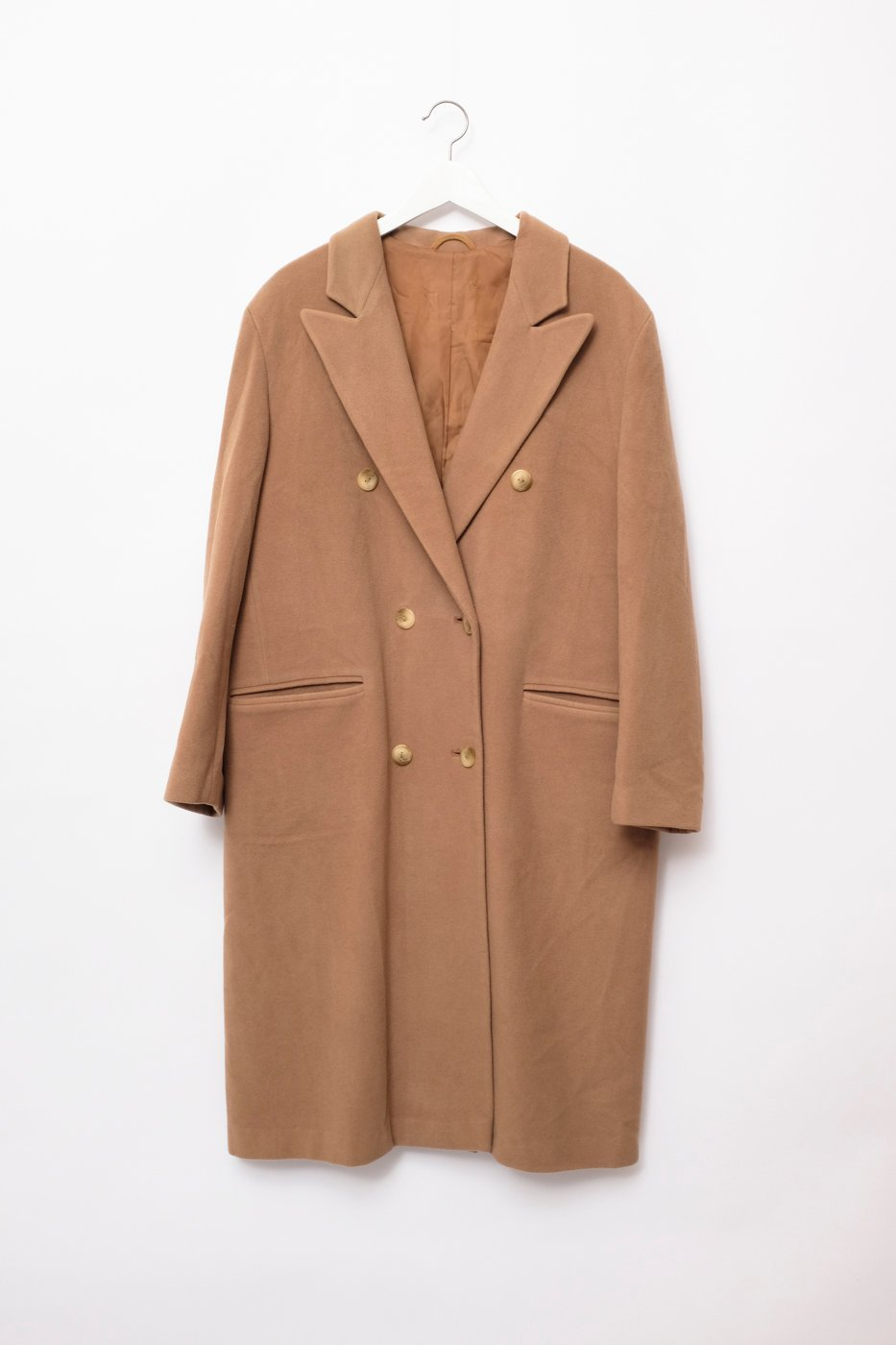 0336_NUDE OVERSIZED BLAZER LONG COAT