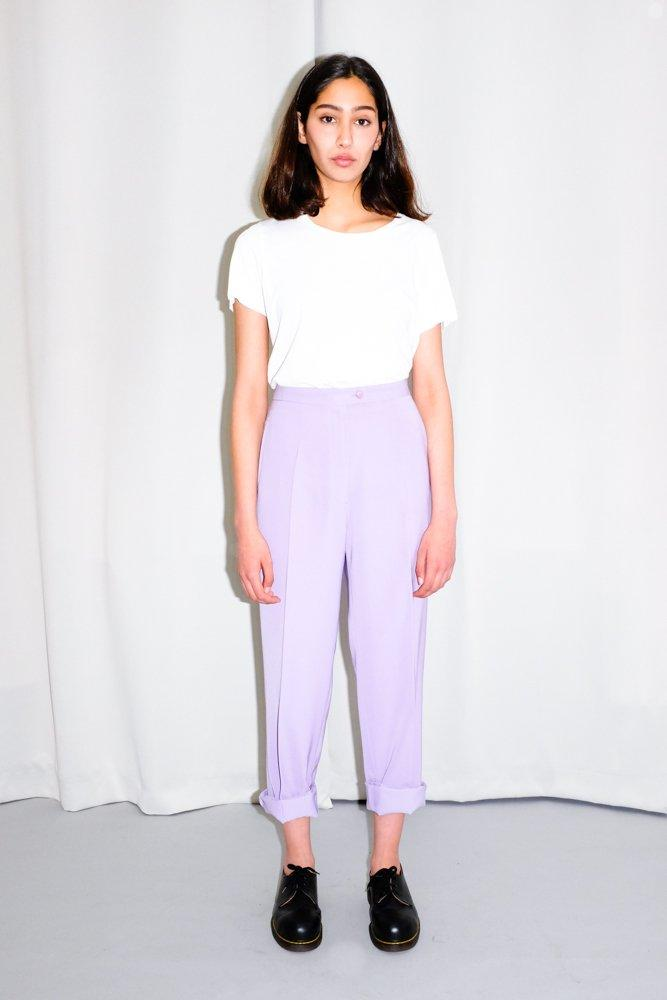 0412_PALE PURPLE PANTS
