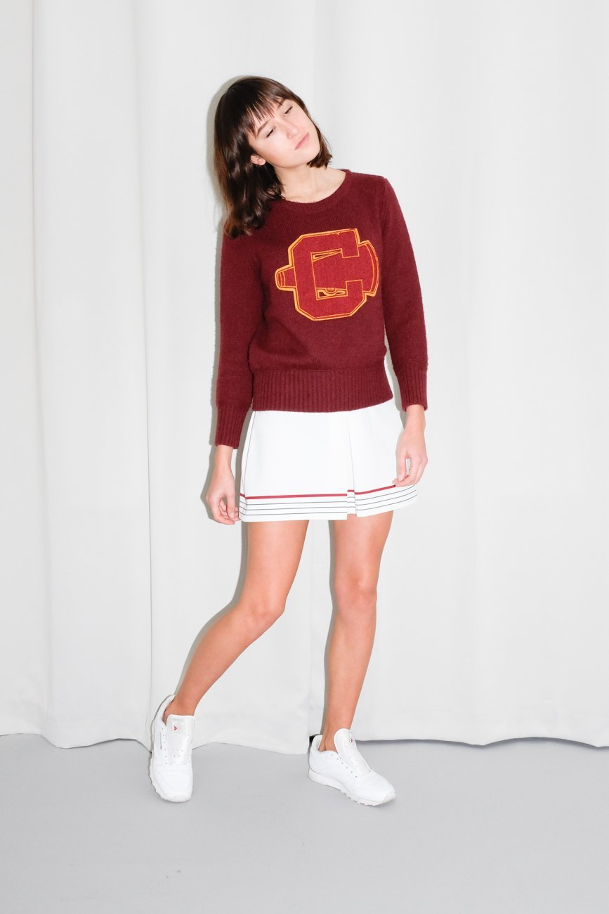 0650_CARVEN BORDEAUX RED KNIT JUMPER