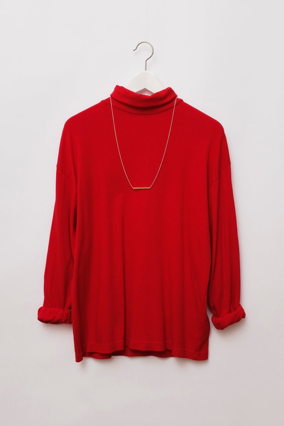 0260_RED TURTLE COTTON SWEATER