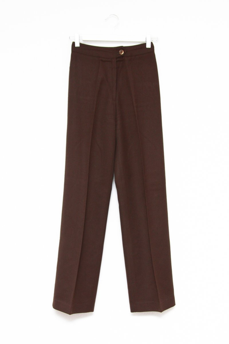 0570_TAILORED BROWN TROUSERS