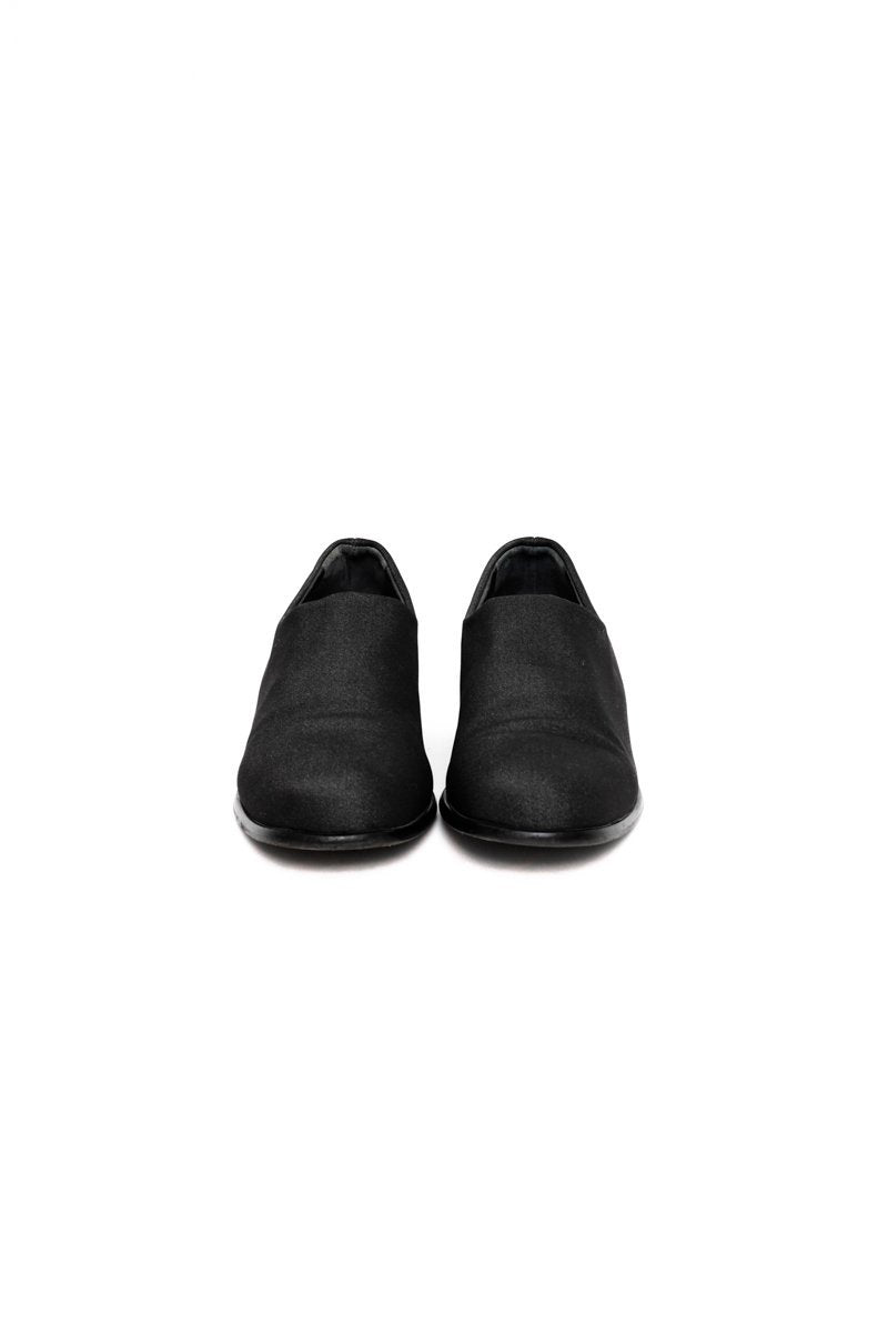 0482_CLEAN 39 MINIMALIST BLACK LOAFERS SHOES