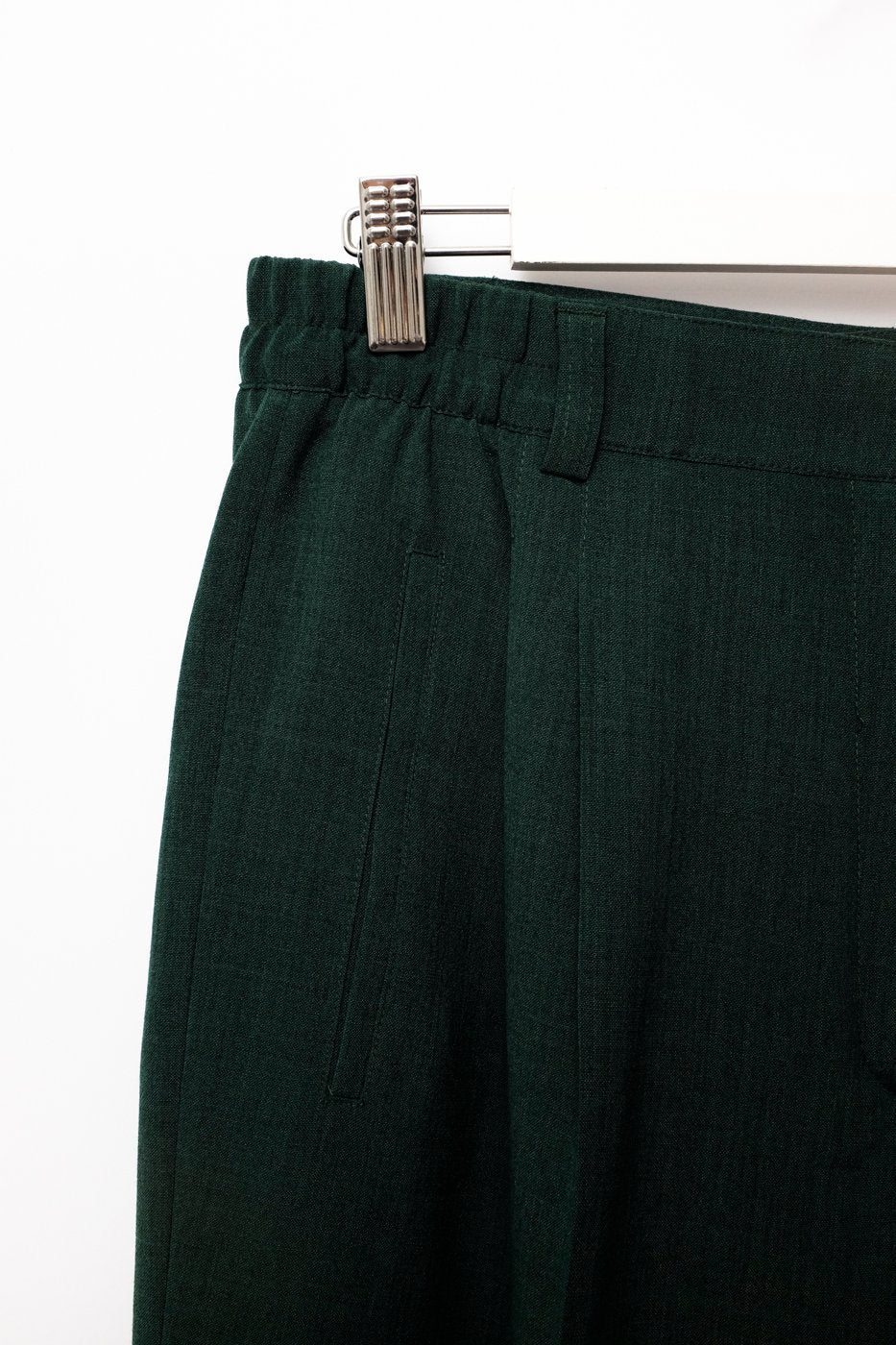 0258_FOREST GREEN VINTAGE PANTS