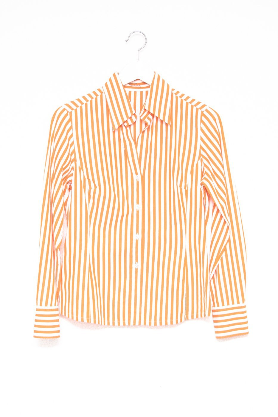 0512_STRIPED ORANGE VINTAGE SHIRT