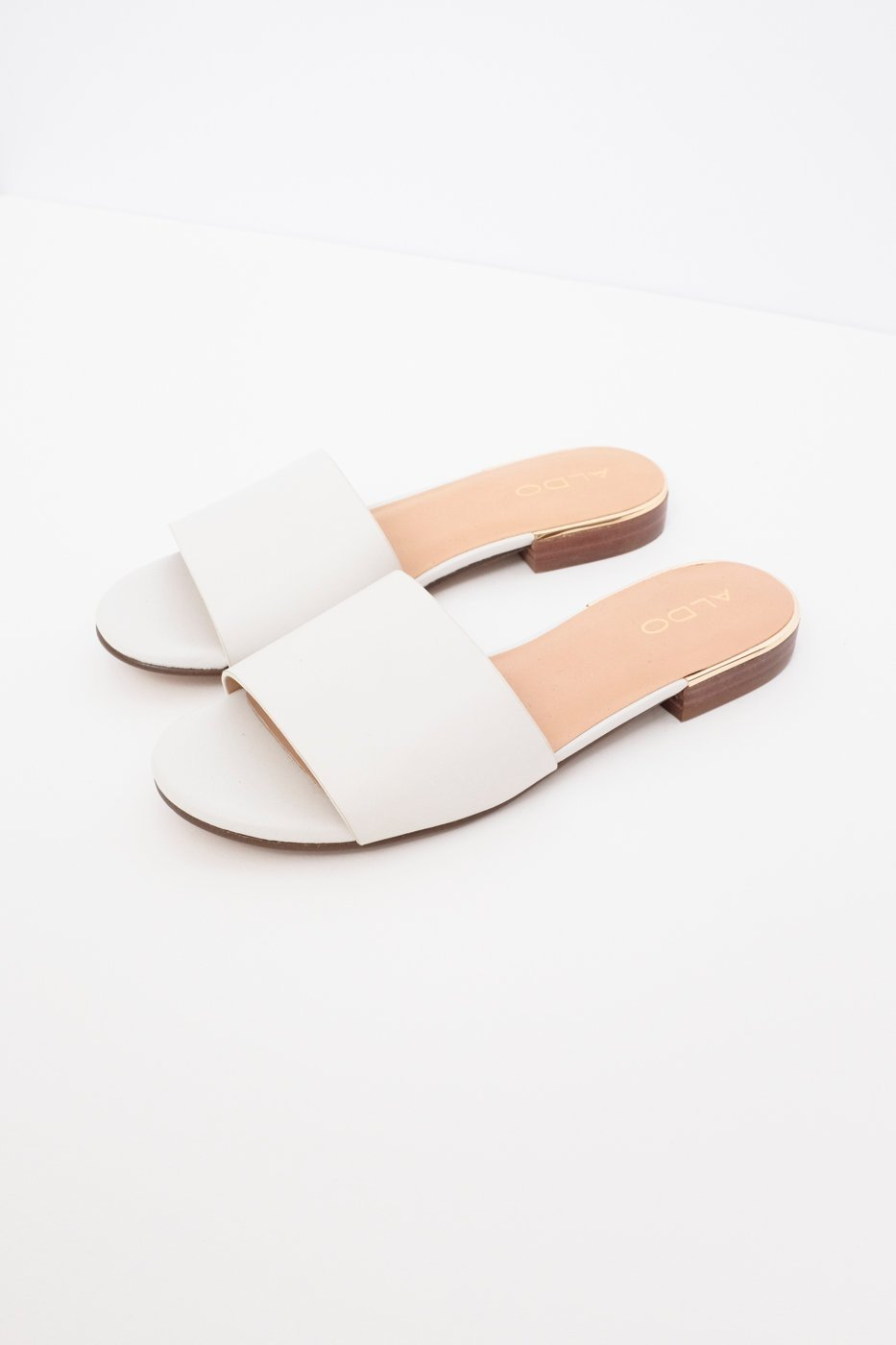 0460_WHITE LEATHER MULE SANDALS 37