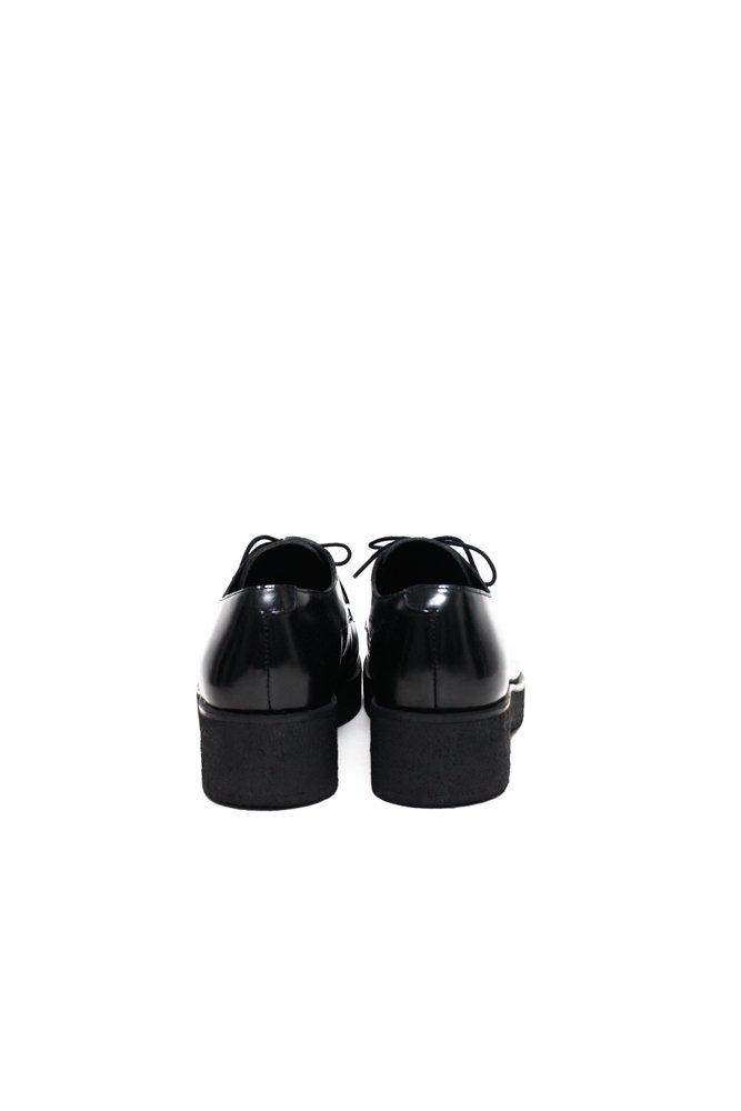 0491_COS 41 BLACK PATENT LEATHER BROGUES