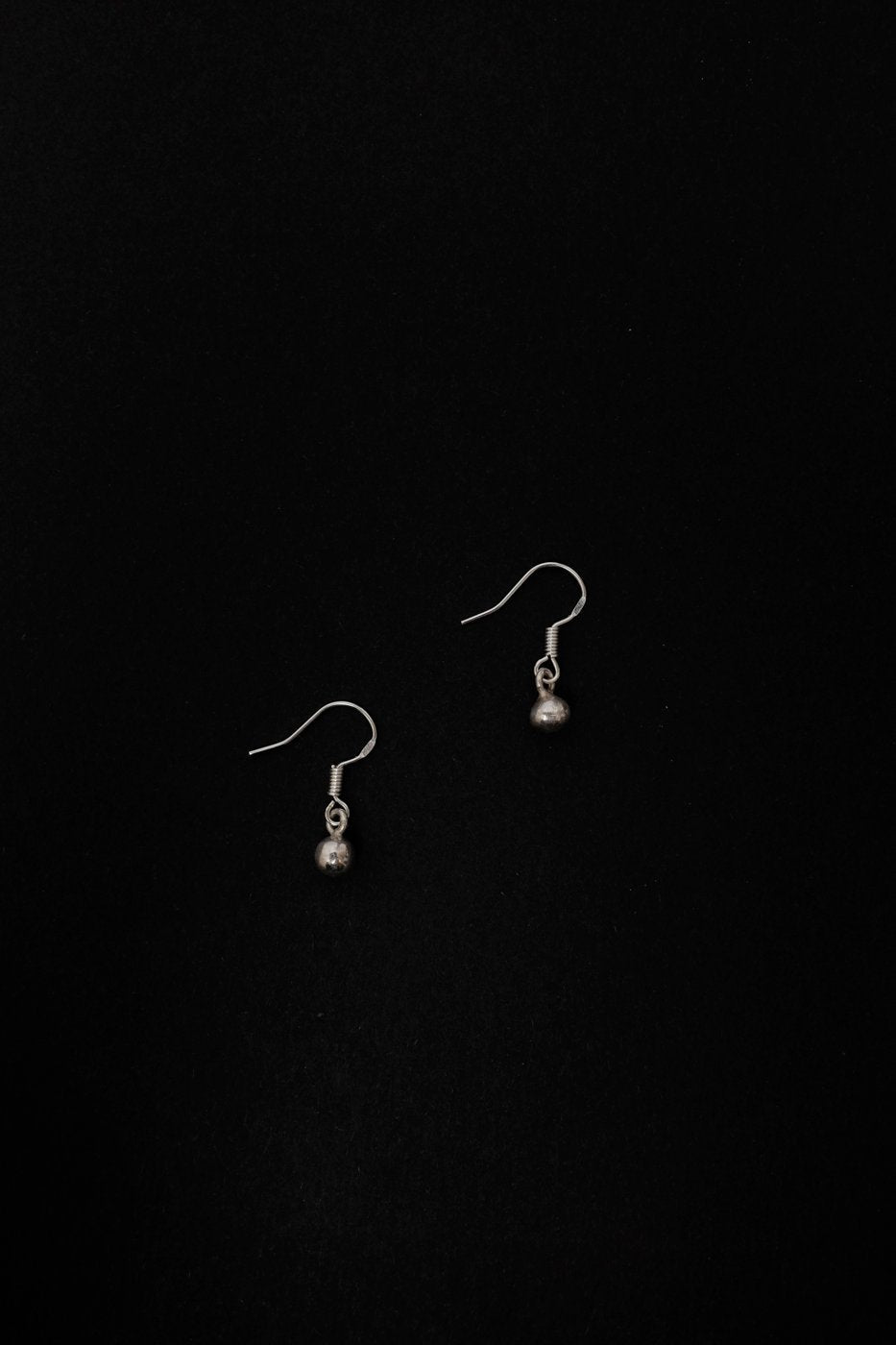 0290_SMALL BALL SILVER EARRINGS 925