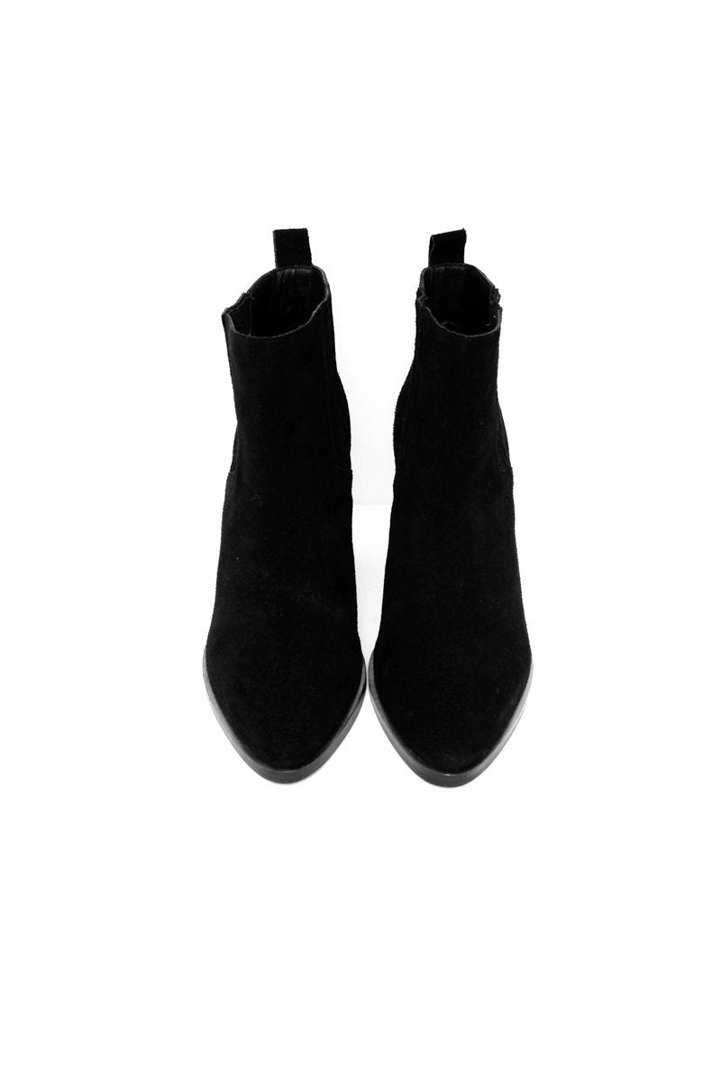 0519_& OTHER STORIES 41 BLACK SUEDE CHELSEA BOOTS