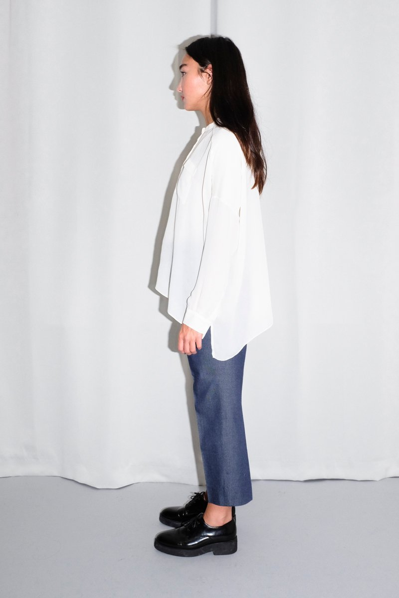 0382_COS OFF WHITE BLOUSE