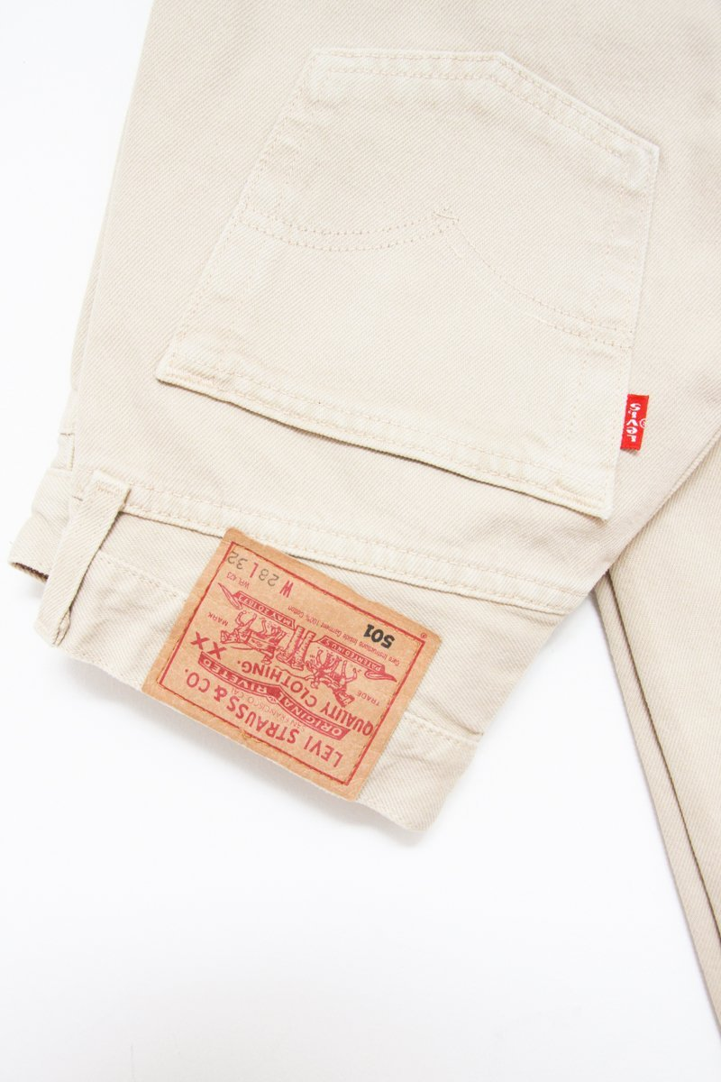 0565_LEVIS 501 MOM JEANS W28 L32 CREAM