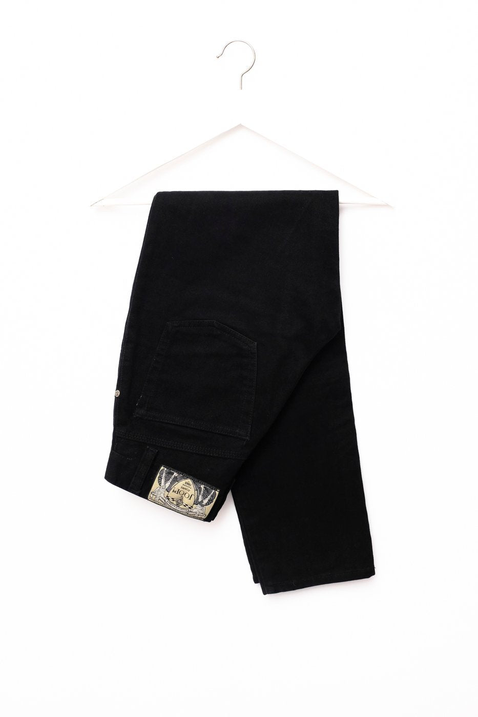 0479_JOOP! BLACK HIGH WAIST CARROT JEANS