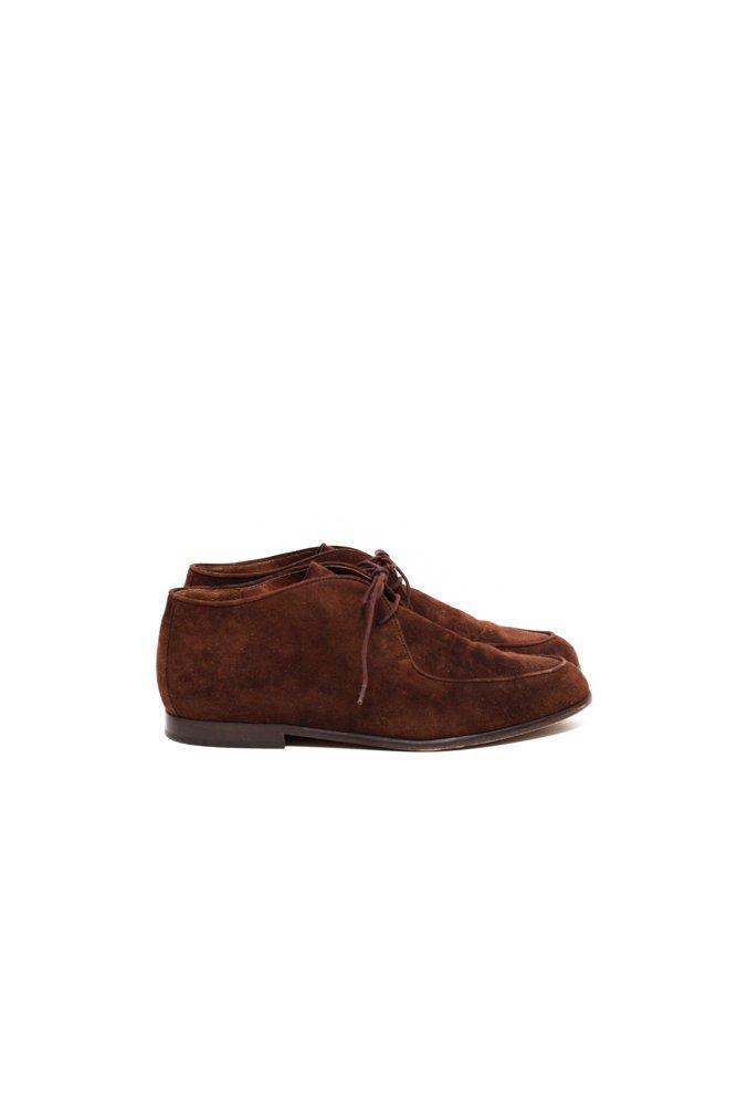 0614_VINTAGE BOHO 37 BROWN SUEDE BROGUES