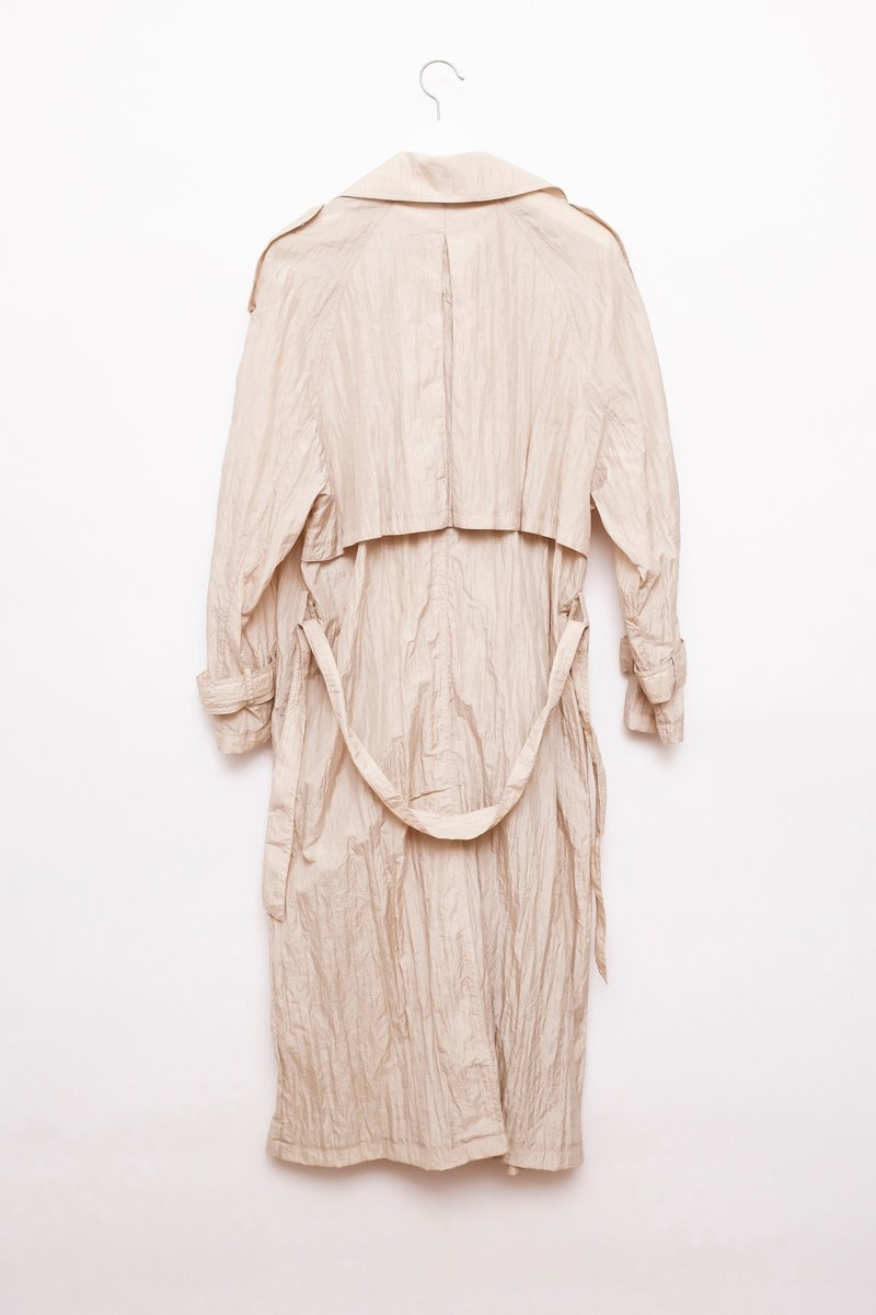 0234_CRUMPLED CREAM TRENCH