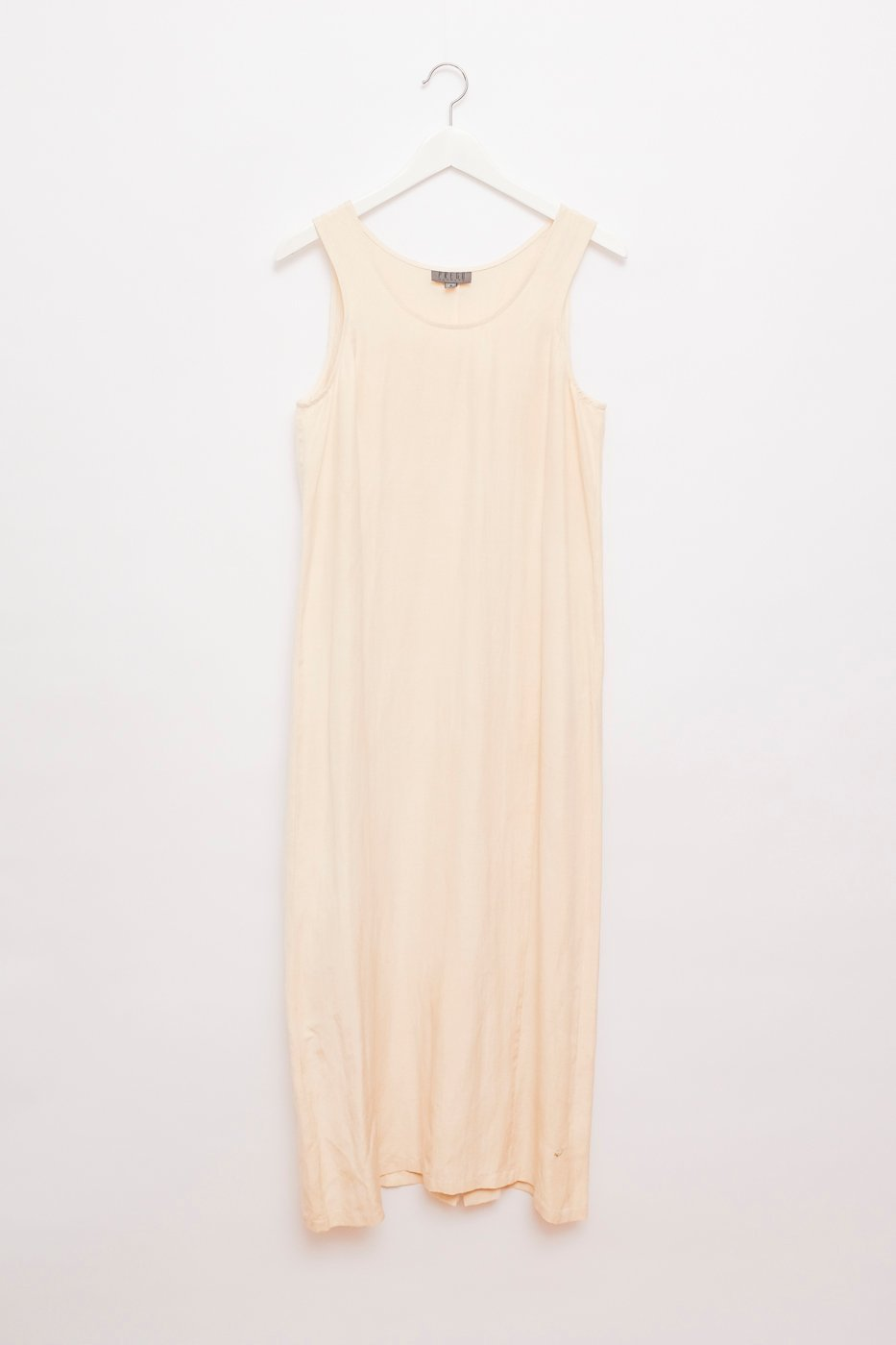 0443_LINEN SILK VANILLA MAXI DRESS