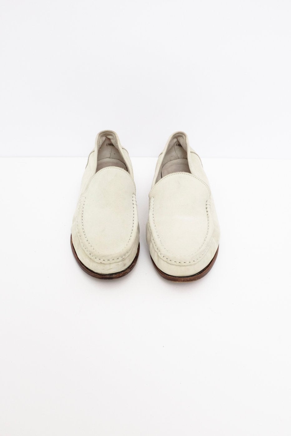 0415_BALLY NUDE MINT SUEDE LEATHER SLIPPER