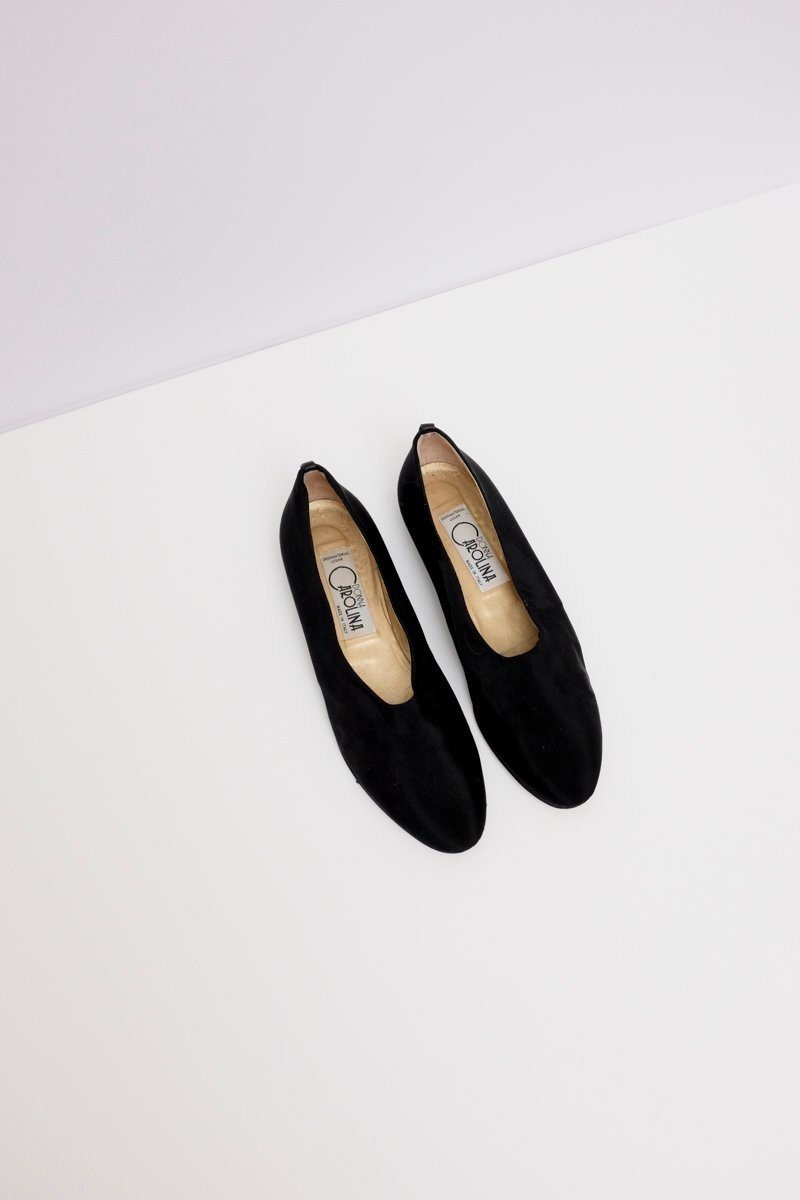 0210_BLACK MINIMAL SLIPPER 39