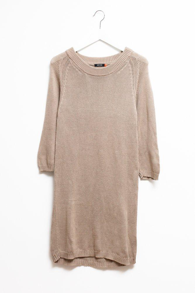0452_WOOD WOOD COTTON NUDE DRESS