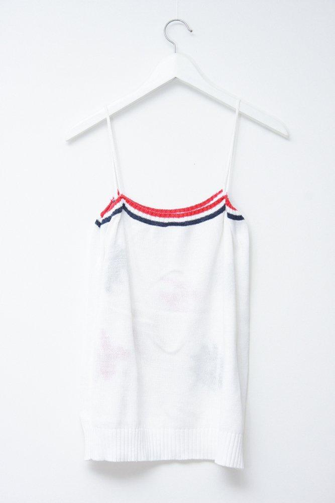 0744_VINTAGE WHITE PATTERN COTTON TOP