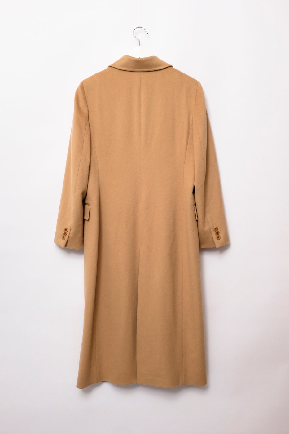 0184_PURE WOOL LIGHT CAMEL BLAZER COAT