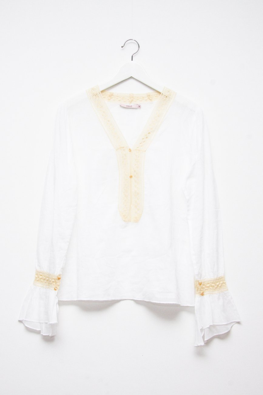 0653_RED VALENTINO VINTAGE HIPPIE BLOUSE