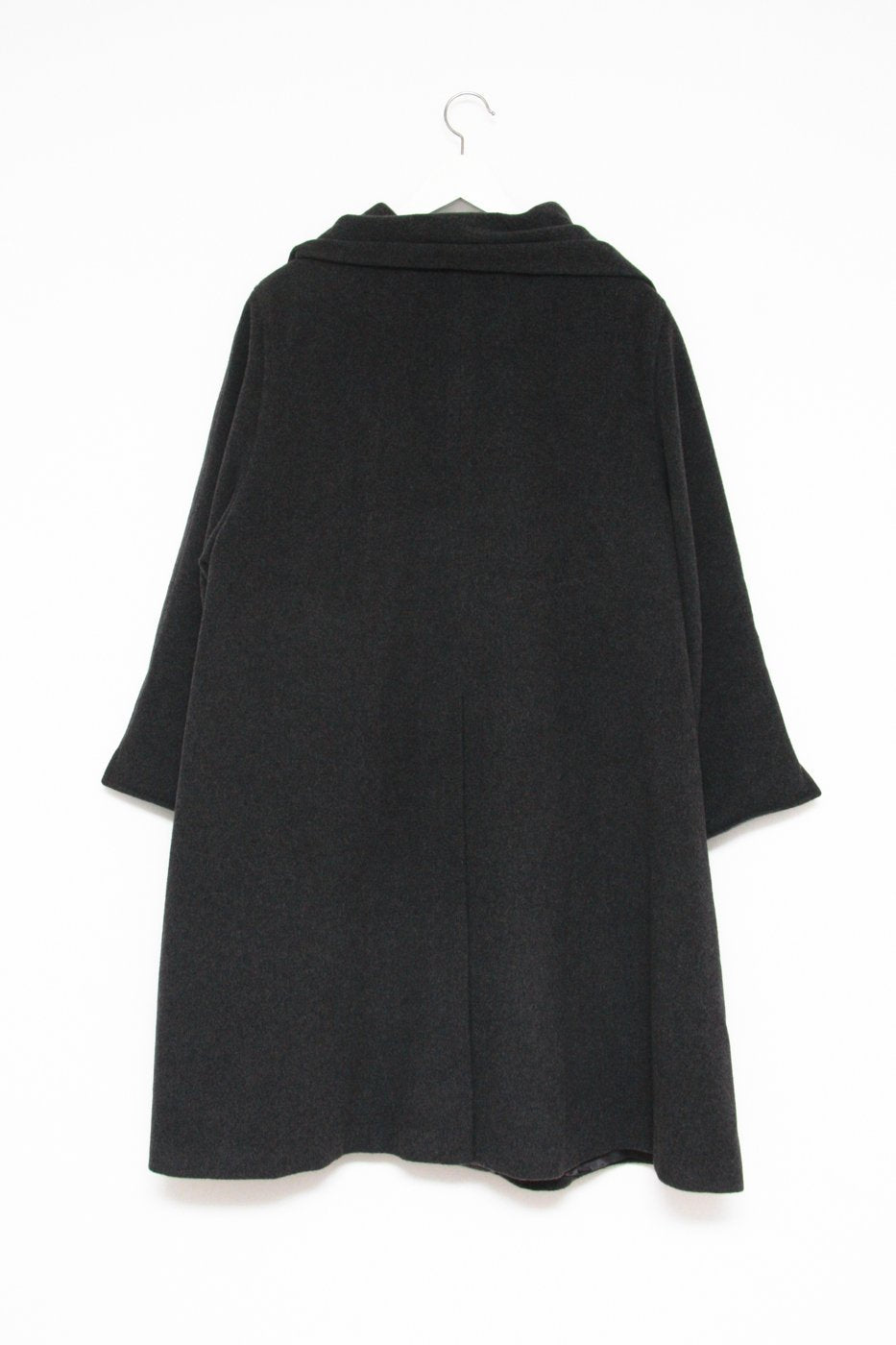 0352_GREY WOOL SCARF CAPE