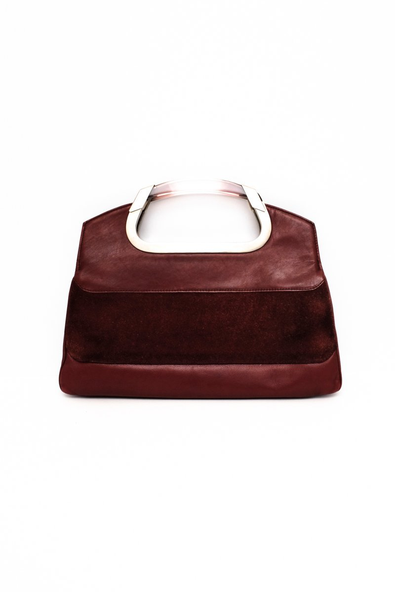 0375_VINTAGE LUCID BORDEAUX BAG