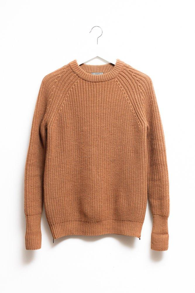 0628_COS CAMEL RIB FISHERMANS JUMPER