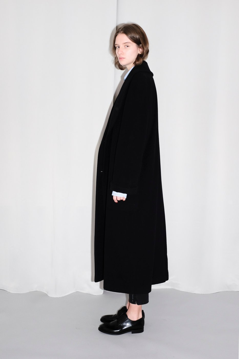 0304_WOOL BLACK COAT