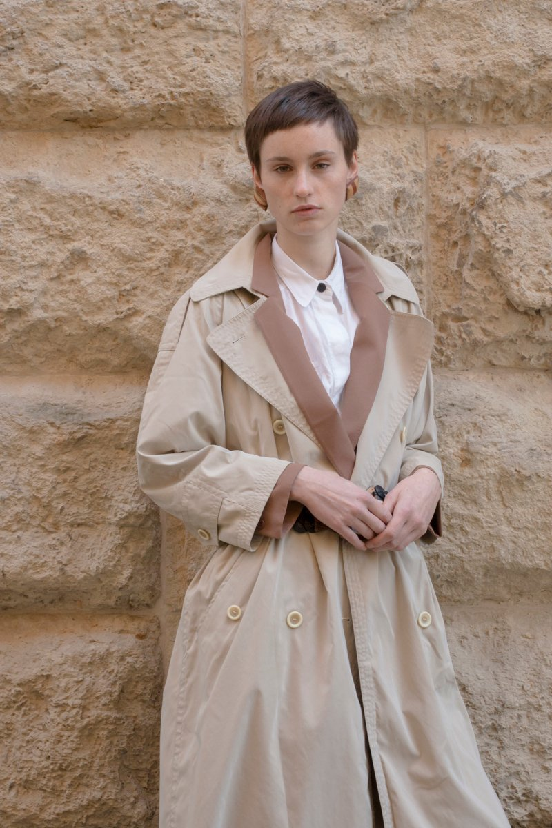 0213_SAND CLASSIC TRENCH