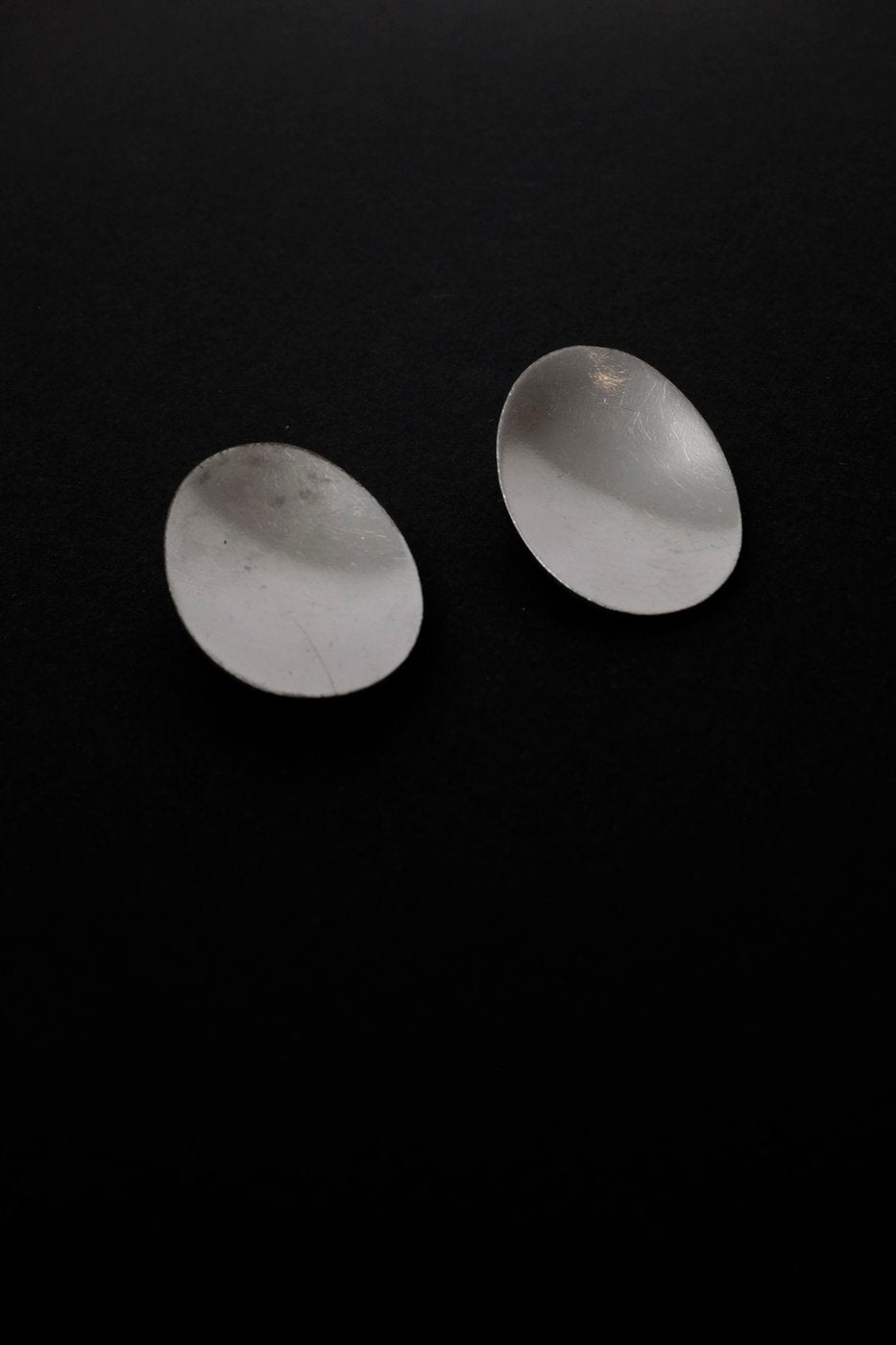 0319_MINIMAL VTG SILVER EARRINGS