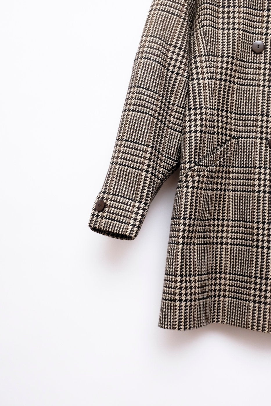 0397_ESCADA TARTAN WOOL BLAZER JACKET