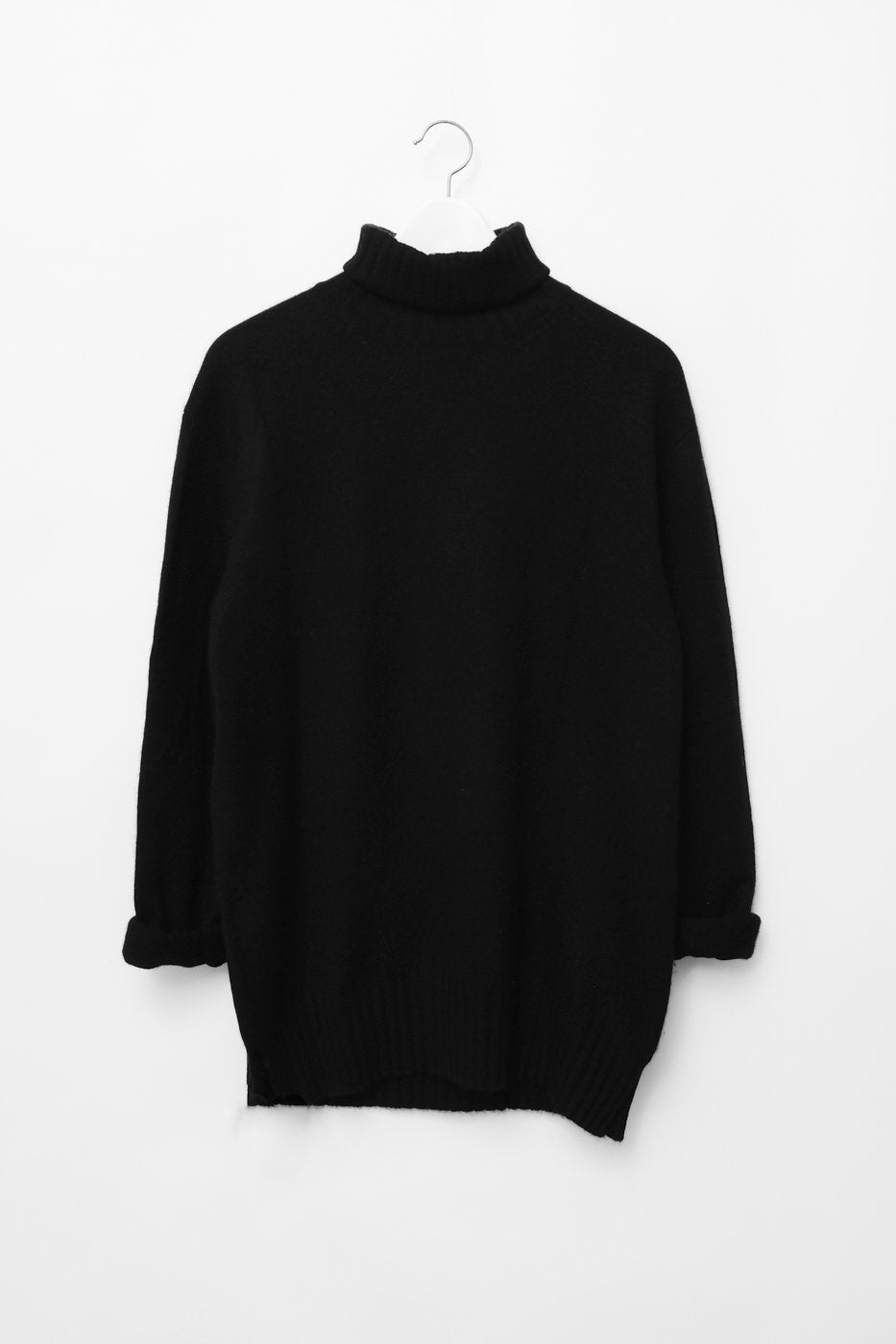 0314_CASHMERE CHUNKY TURTLE NECK KNIT