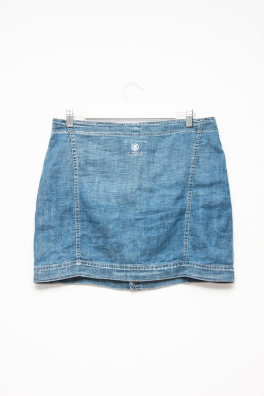 0632_MM6 MAISON MARGIELA DENIM BUTTON SKIRT