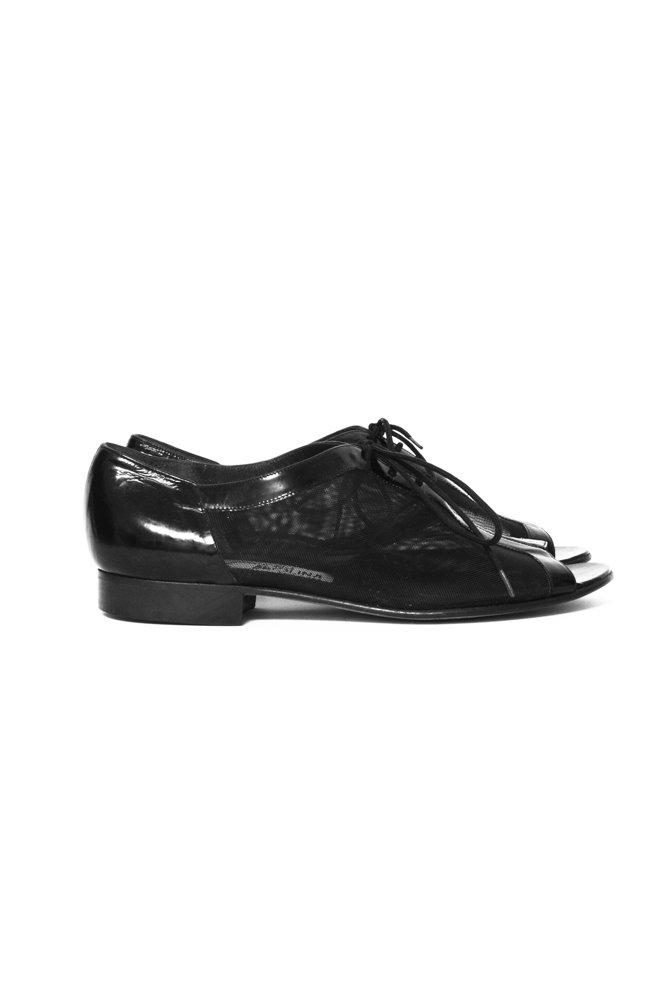 0584_BLACK MULE PATENT LEATHER 37,5 BROGUES