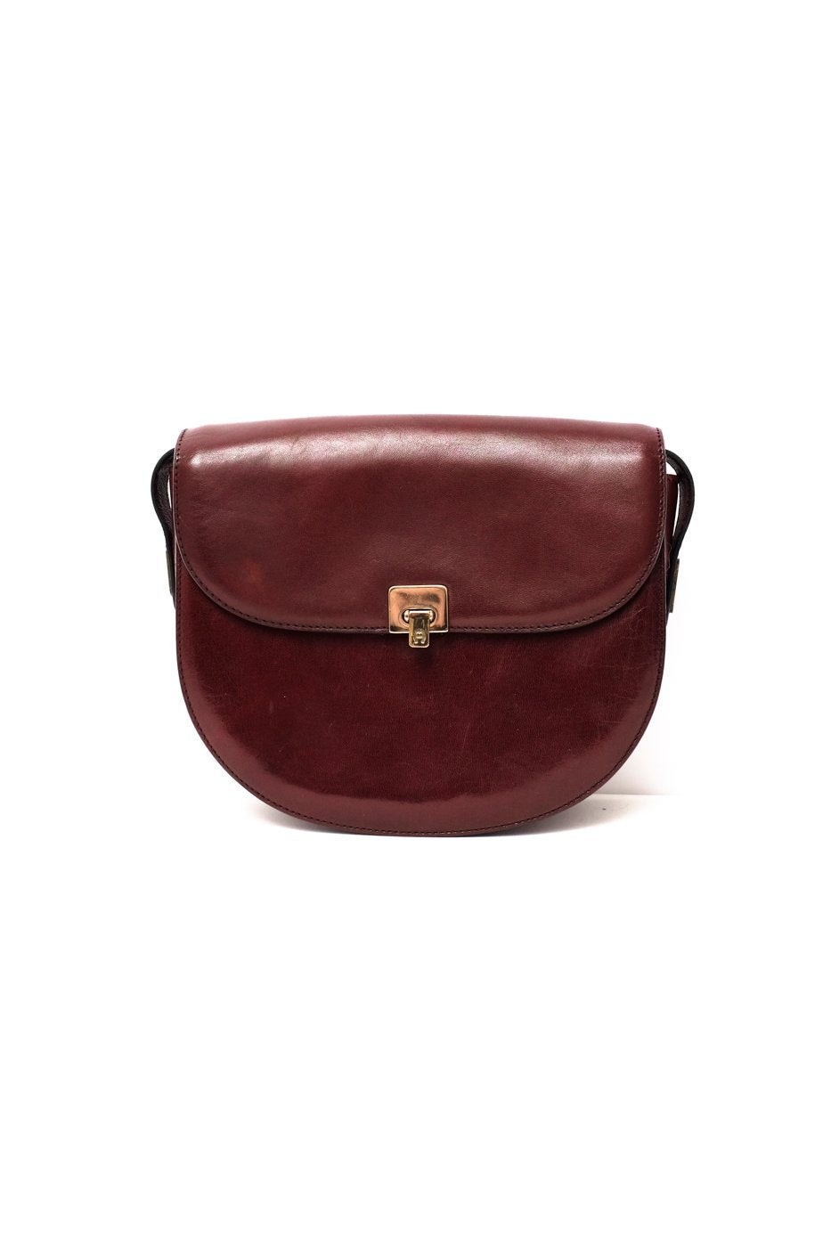 0271_AIGNER HALF MOON BAG BORDEAUX