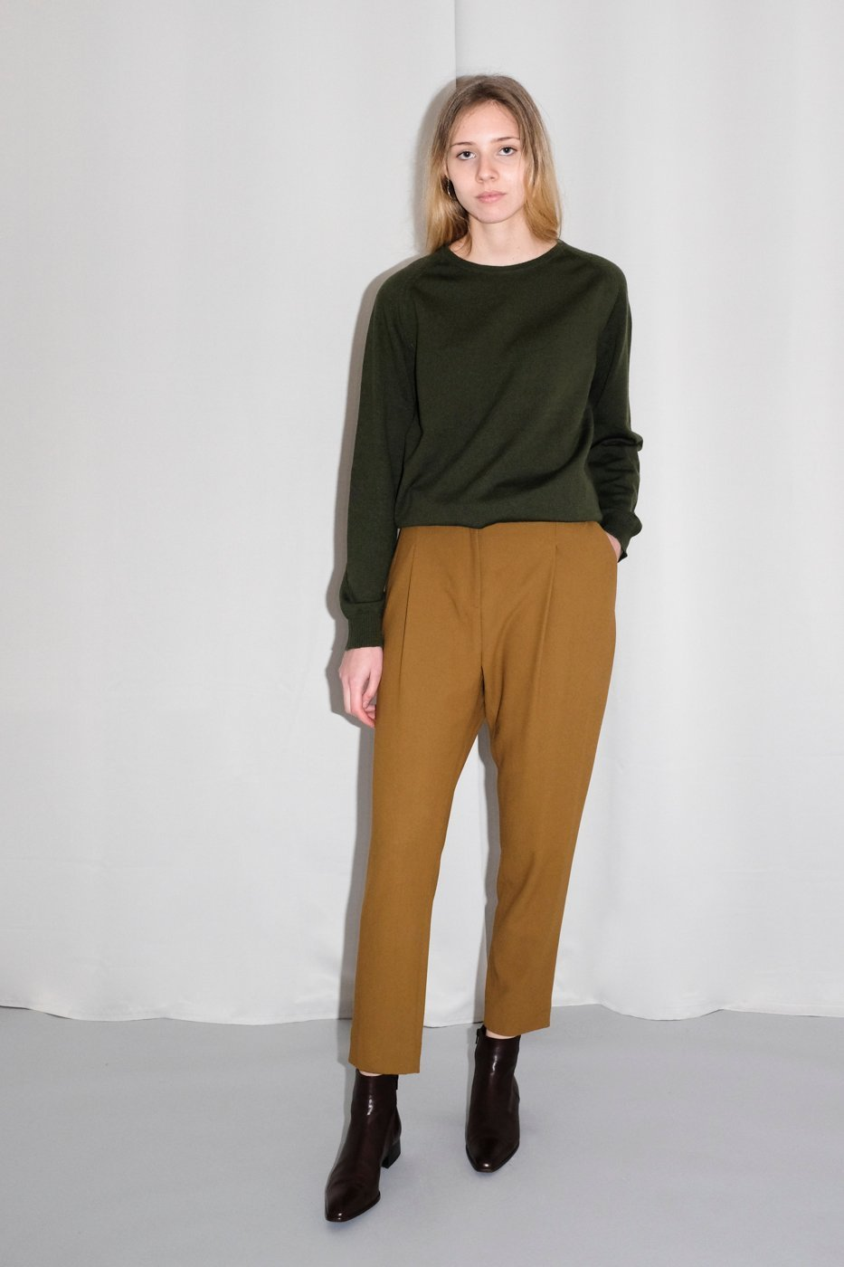 0273_COS COGNAC CAMEL PANTS