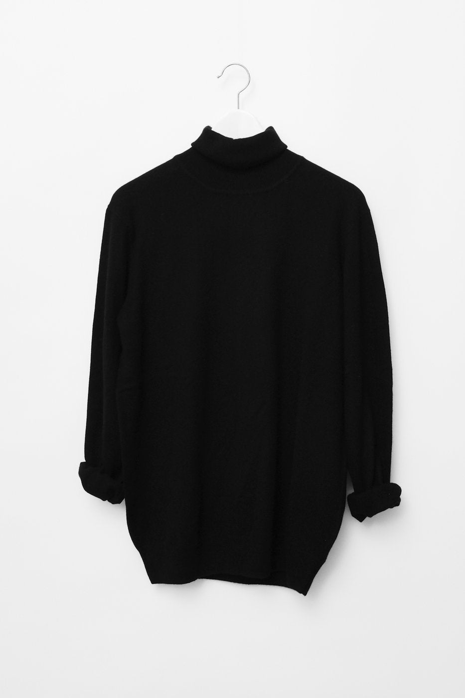 0153_SILK CASHMERE TURTLE NECK KNIT