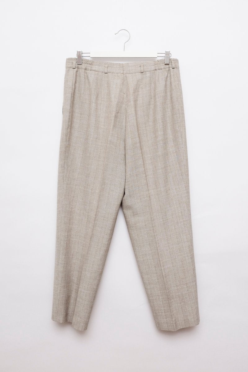 0201_VINTAGE CROPPED BEIGE PANTS
