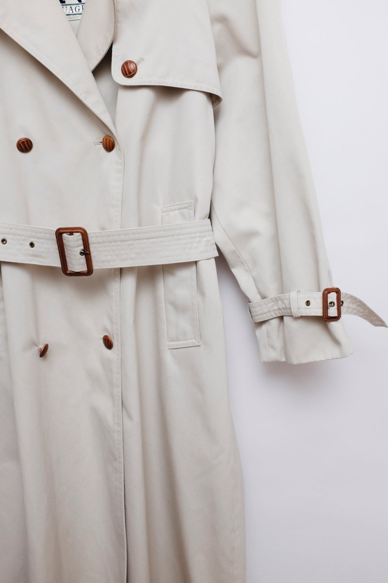 0001_BELTED BEIGE CLASSIC TRENCH