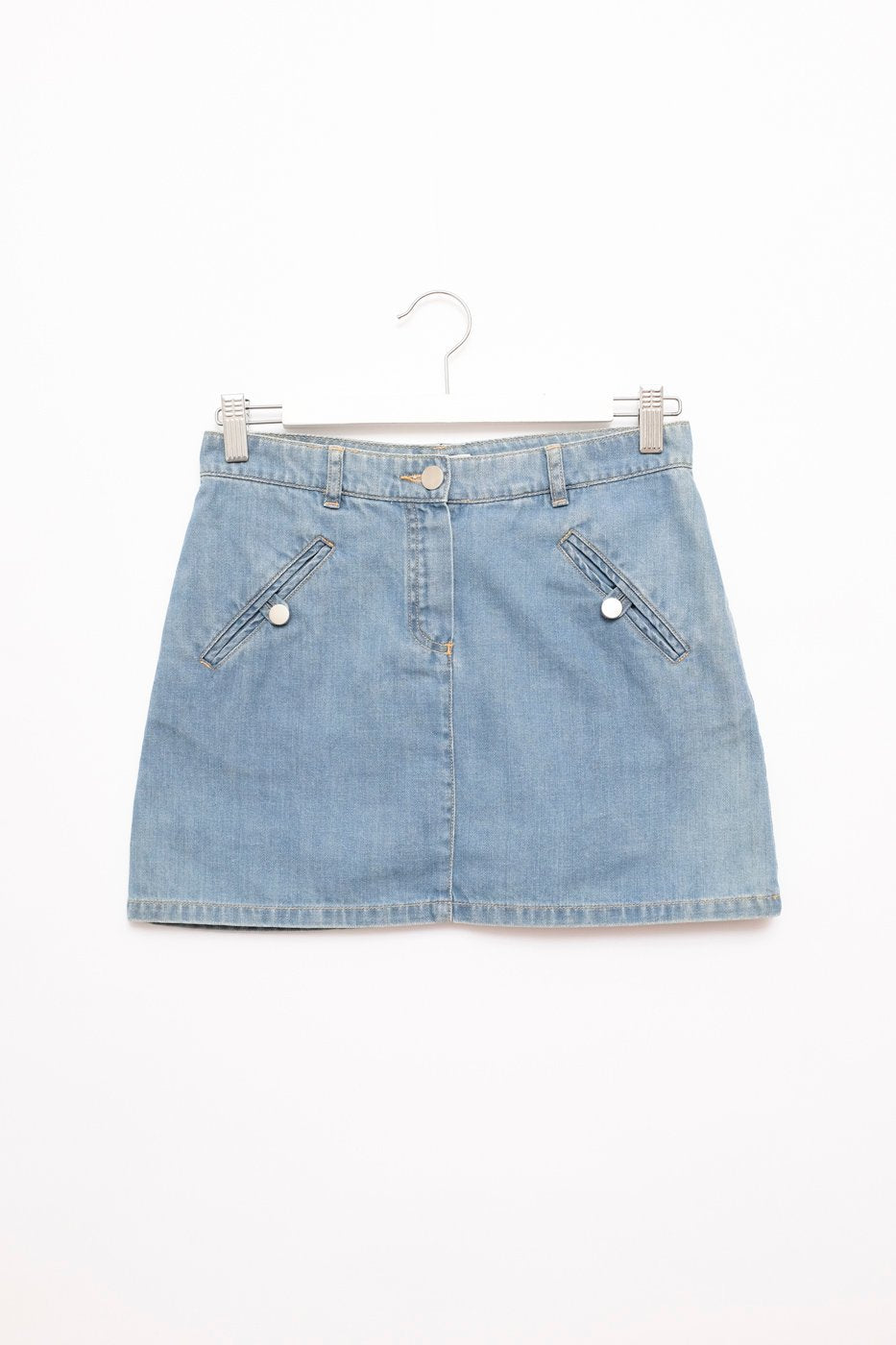 0423_CHLOÉ VINTAGE JEANS DENIM SKIRT // 34
