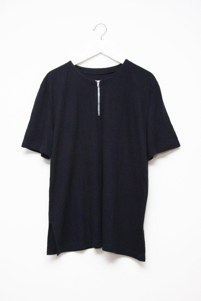 0524_ZIP FRENCH NAVY VTG SHIRT